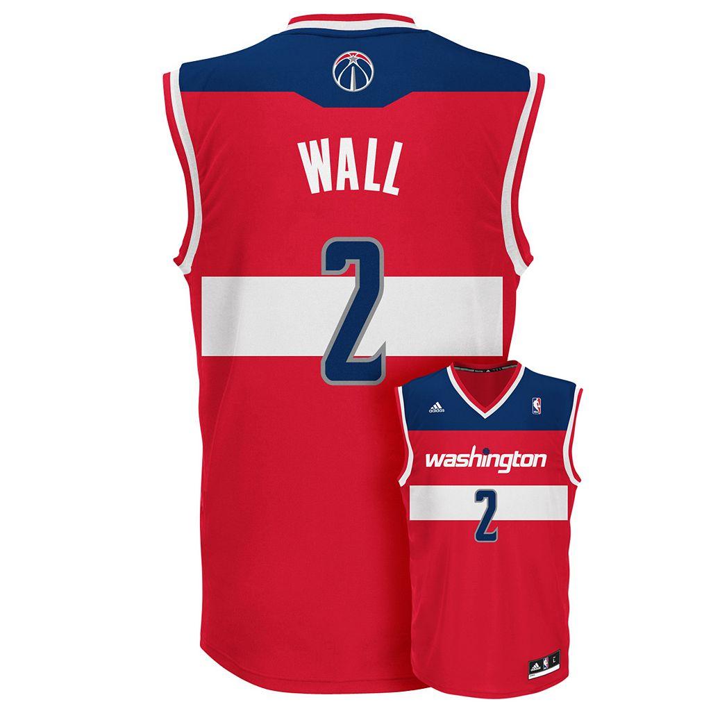 Men's adidas Washington Wizards John Wall NBA Jersey