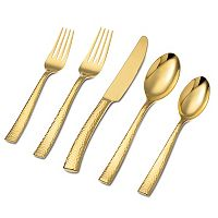 Hampton Forge Argent Paris Hammered 20-pc. Flatware Set