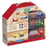 Guidecraft Wooden Truck Collection