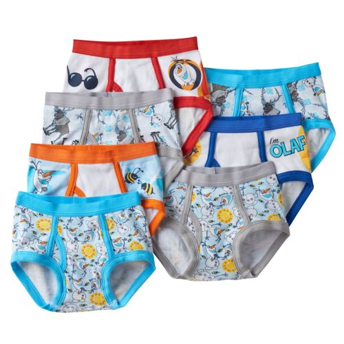 Disney Frozen Olaf 7-pk. Briefs - Toddler