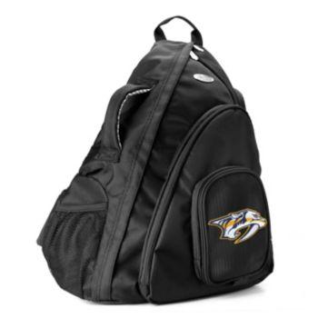 Nashville Predators 15-in. Laptop Sling Backpack