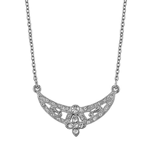 Downton Abbey® Openwork Crescent Necklace