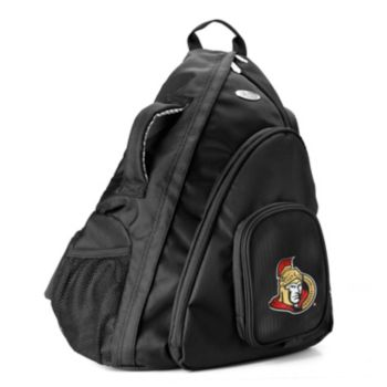 Ottawa Senators 15-in. Laptop Sling Backpack