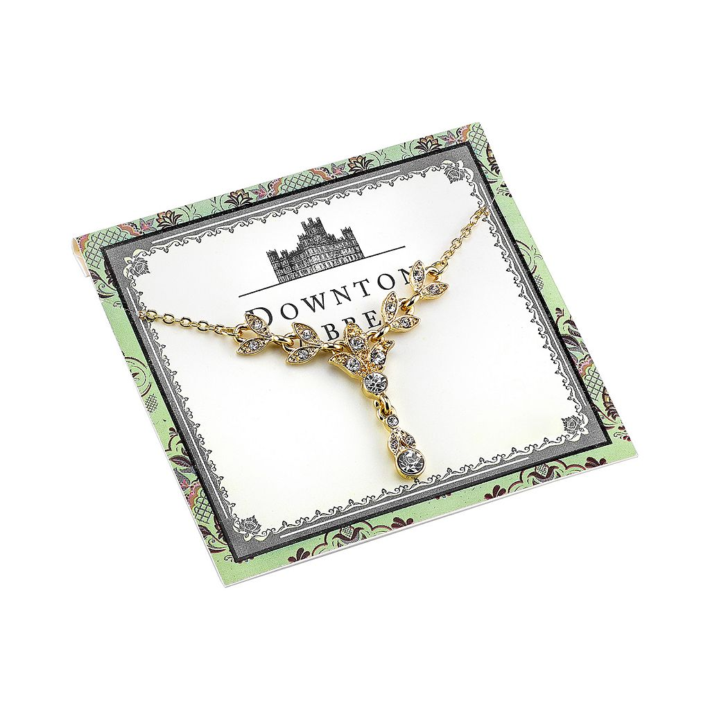 Downton Abbey Vine Y Necklace