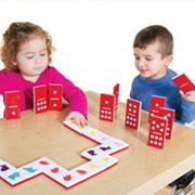 Guidecraft Jumbo Textured Dominoes