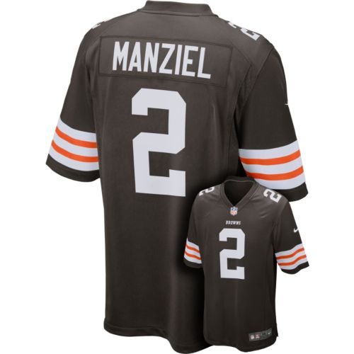 Nike Cleveland Browns Johnny Manziel Game NFL Replica Jersey - Men
