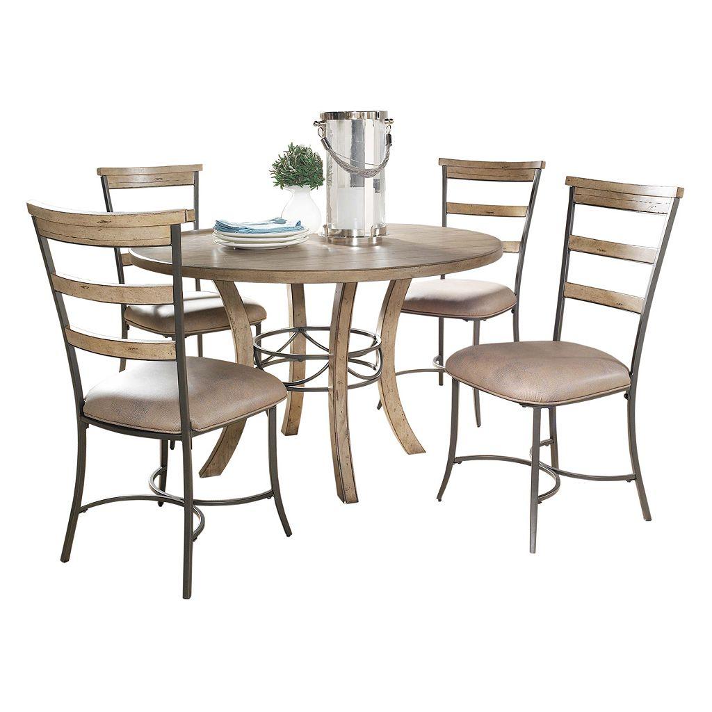 Hillsdale Furniture Charleston Ladder-Back 5-pc. Dining Set