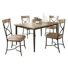 Hillsdale Furniture Charleston X Back 5 Pc Dining Set
