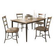 Hillsdale Furniture Charleston Ladder-Back 5 pc Dining Set
