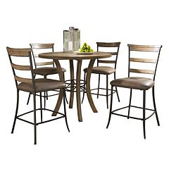 Hillsdale Furniture Charleston Ladder-Back 5-pc. Counter-Height Dining Set