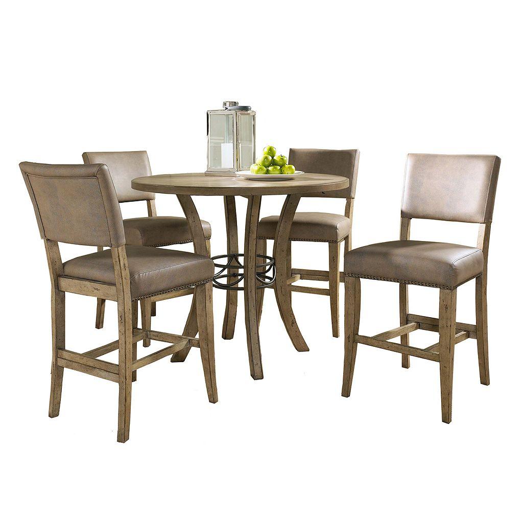 Hillsdale Furniture Charleston Parson 5-pc. Counter-Height Dining Set