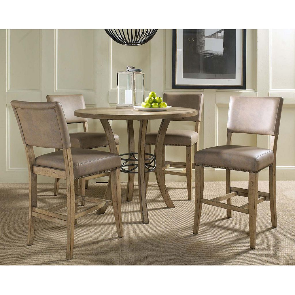 Hillsdale Furniture Charleston Parson 5-pc. Counter-Height Dining Set