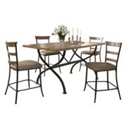 Hillsdale Furniture Charleston Ladder-Back 5 pc Counter-Height Dining Set