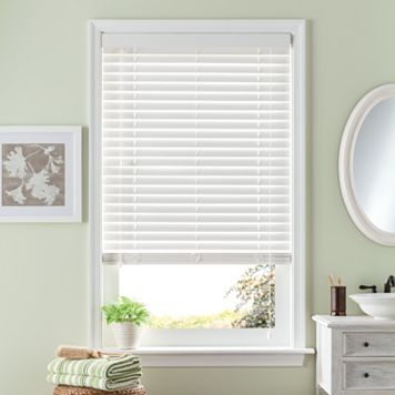Bali Room Darkening 2'' Slat Faux-Wood Blinds - 27'' x 64''