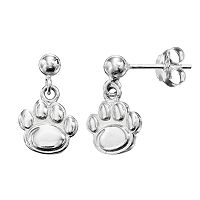 Dayna U Penn State Nittany Lions Sterling Silver Drop Earrings