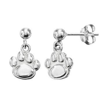 Dayna U Penn State Nittany Lions Sterling Silver Drop Earrings