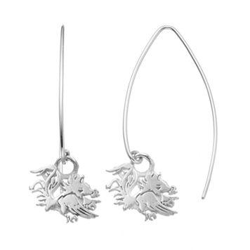 Dayna U South Carolina Gamecocks Sterling Silver Hook Earrings