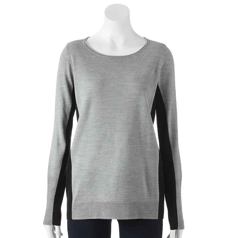 Apt. 9® Colorblock Sweater - Women's
