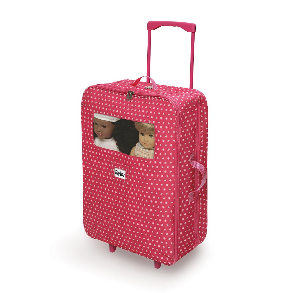 Badger Basket Double Doll Suitcase and Sleeping Bag Set