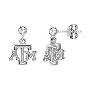 Dayna U Texas A&M Aggies Sterling Silver Drop Earrings