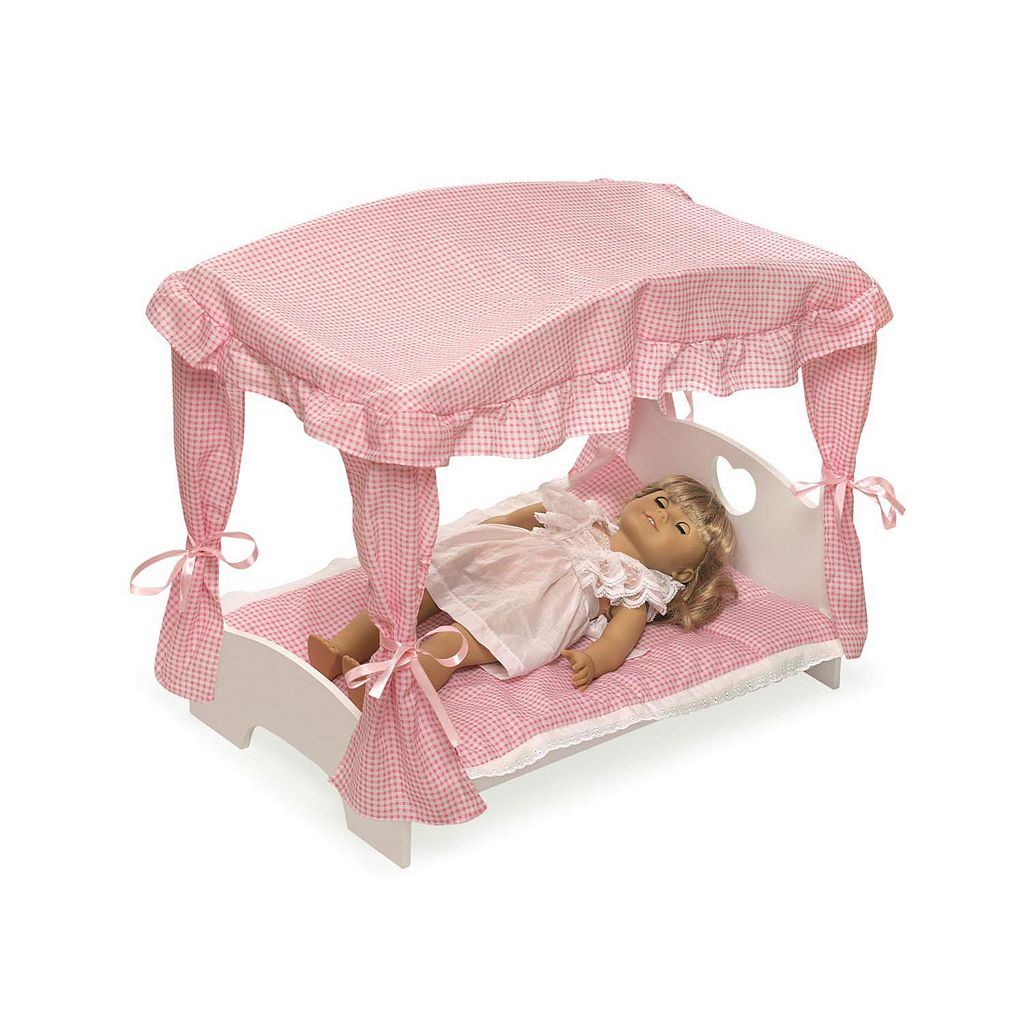 Badger Basket Canopy Doll Bed