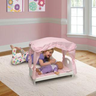 Badger Basket Canopy Doll Bed