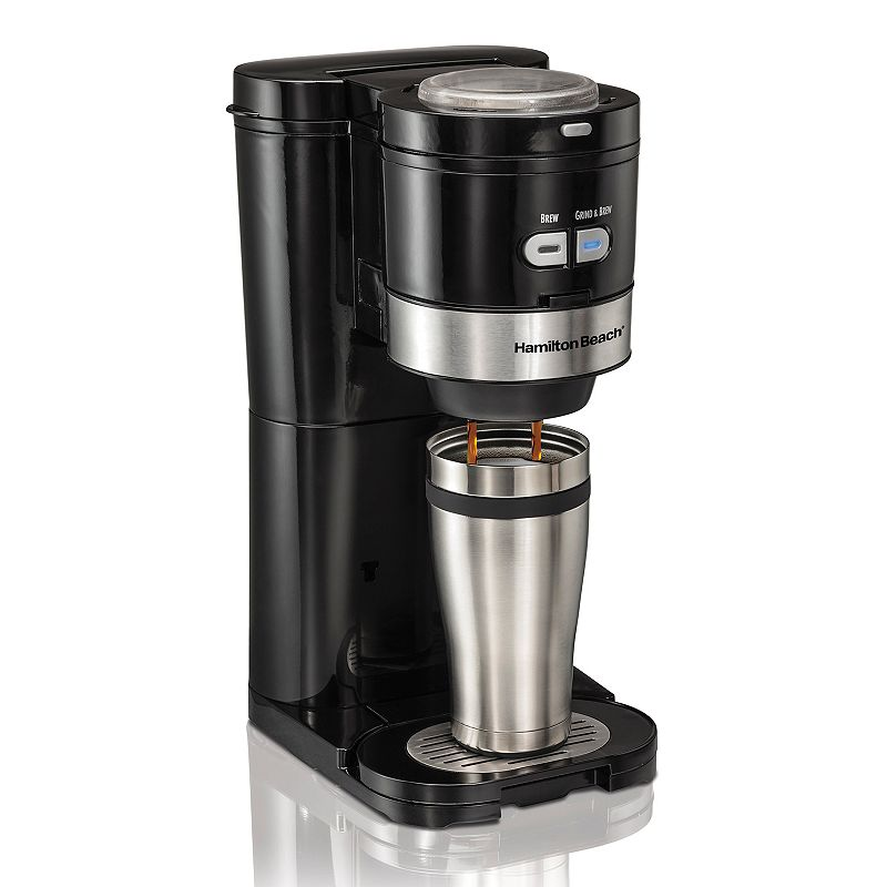 Black Travel Coffee Maker Kohl s