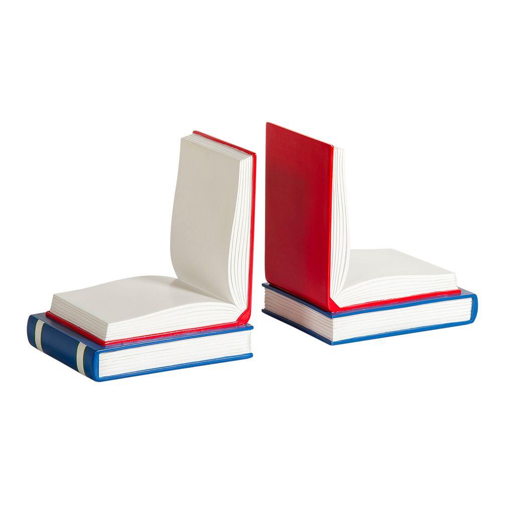 Guidecraft Open Book Bookends