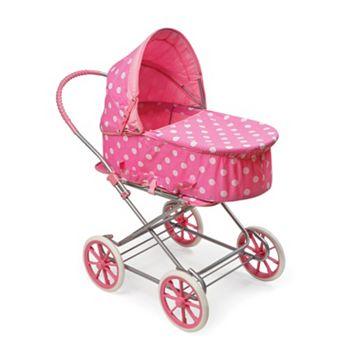 Badger Basket Polka-Dot 3-in-1 Doll Carrier