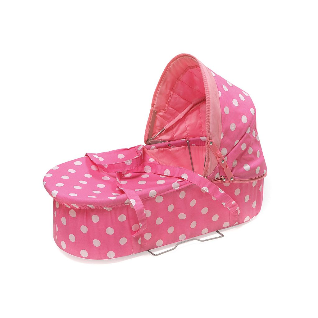Badger Basket Polka-Dot 3-in-1 Doll Carrier