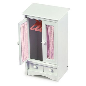 Badger Basket Doll Armoire