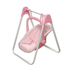 Badger Basket Doll Swing & Carrier