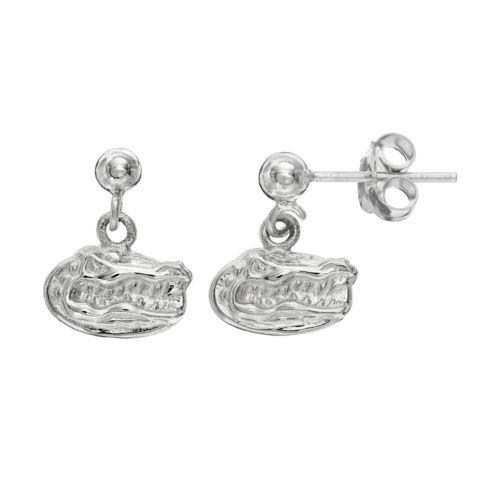 Dayna U Florida Gators Sterling Silver Drop Earrings