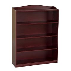 Guidecraft Cherry 5-Shelf Bookshelf