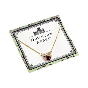 Downton Abbey Bow Necklace