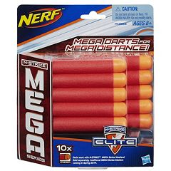 Nerf 10-pk. N-Strike Mega Series Darts by Hasbro