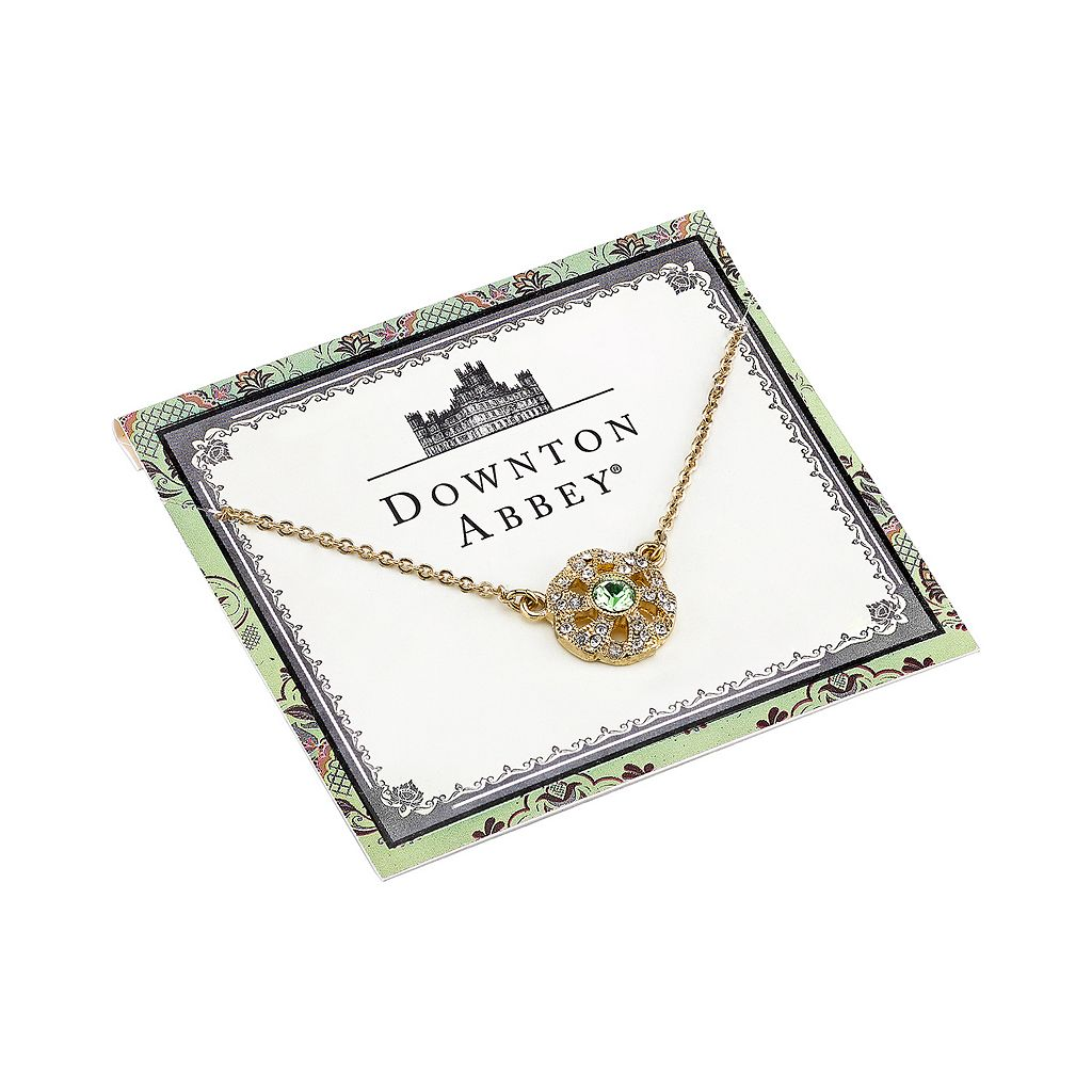 Downton Abbey Flower Necklace