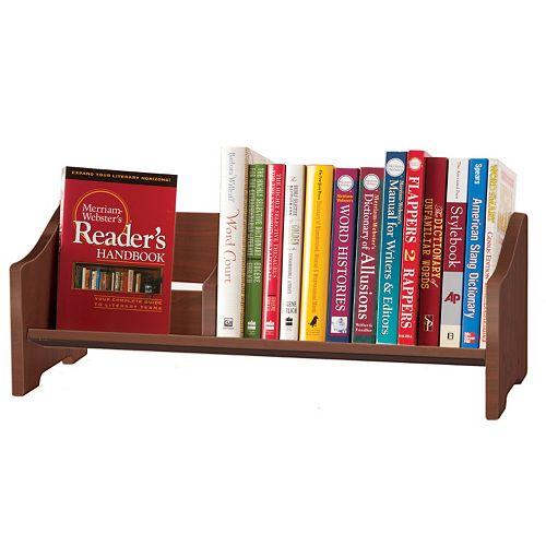 Guidecraft Cherry Tabletop Bookshelf