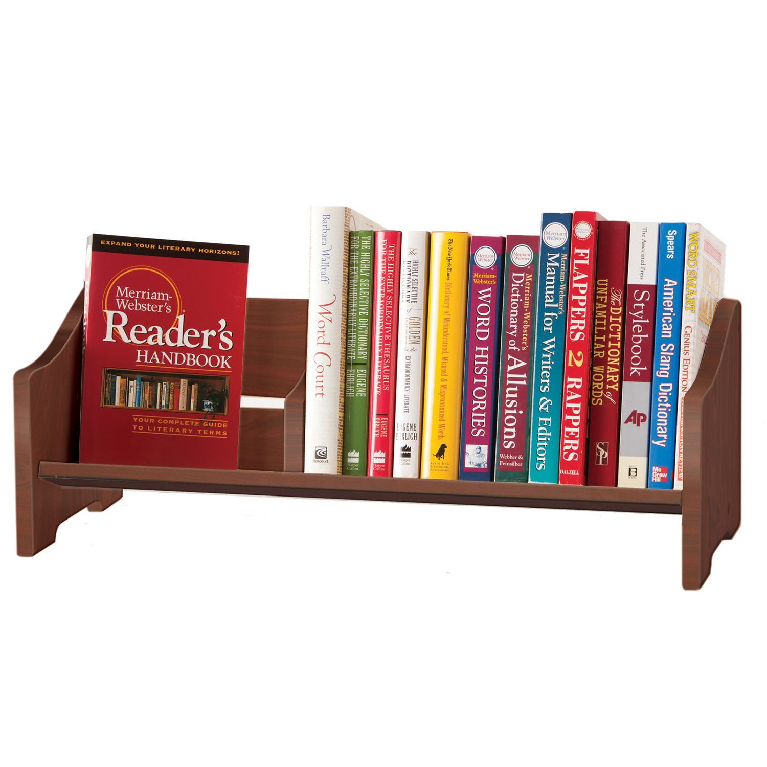 Wonderful Guidecraft Cherry Tabletop Bookshelf
