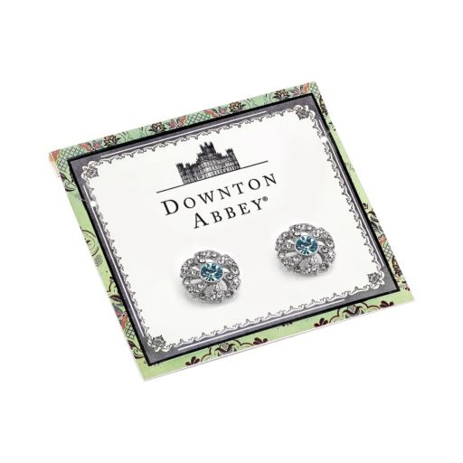 Downton Abbey Flower Stud Earrings