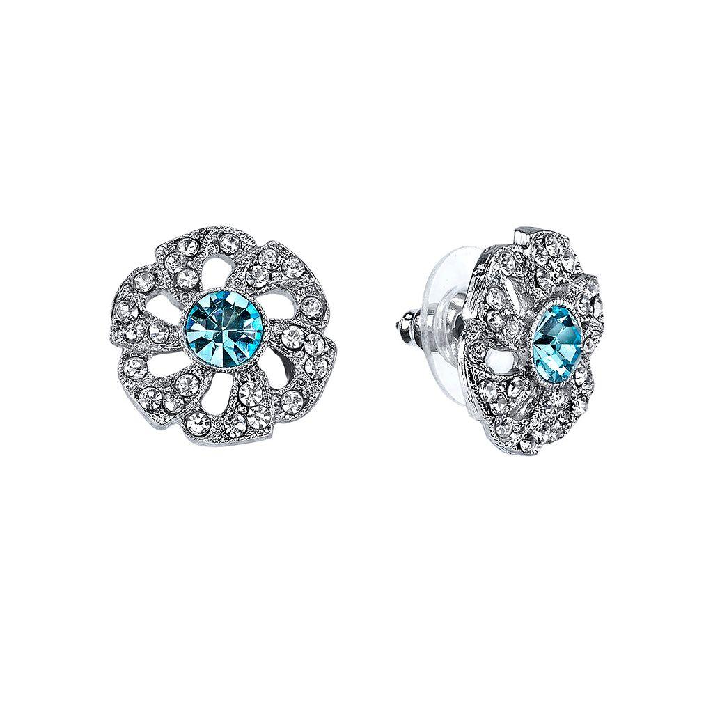 Downton Abbey® Flower Stud Earrings