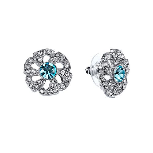 Downton Abbey® Flower Stud Earrings