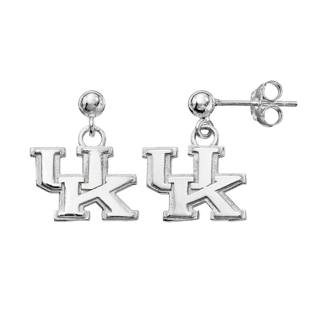 Dayna U Kentucky Wildcats Sterling Silver Drop Earrings