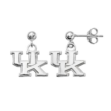 Dayna U Kentucky Wildcats Sterling Silver Drop Earrings