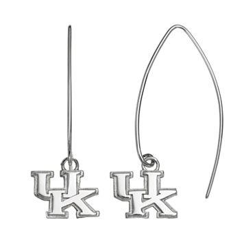 Dayna U Kentucky Wildcats Sterling Silver Hook Earrings
