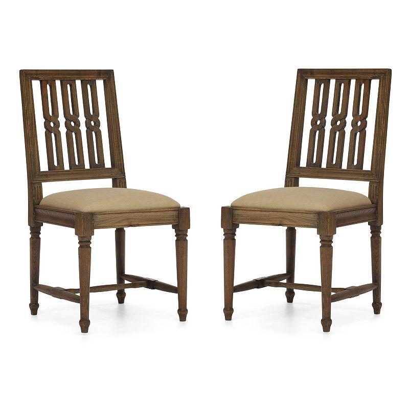 Zuo Era 2-piece Excelsior Chair Set