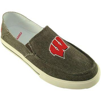 Men's Wisconsin Badgers Drifter Slip-On Shoes
