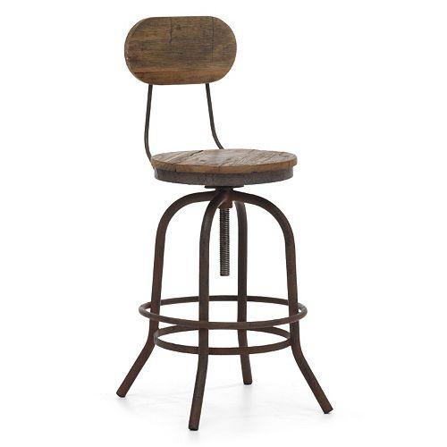 Zuo Era Peaks Adjustable Counter Chair