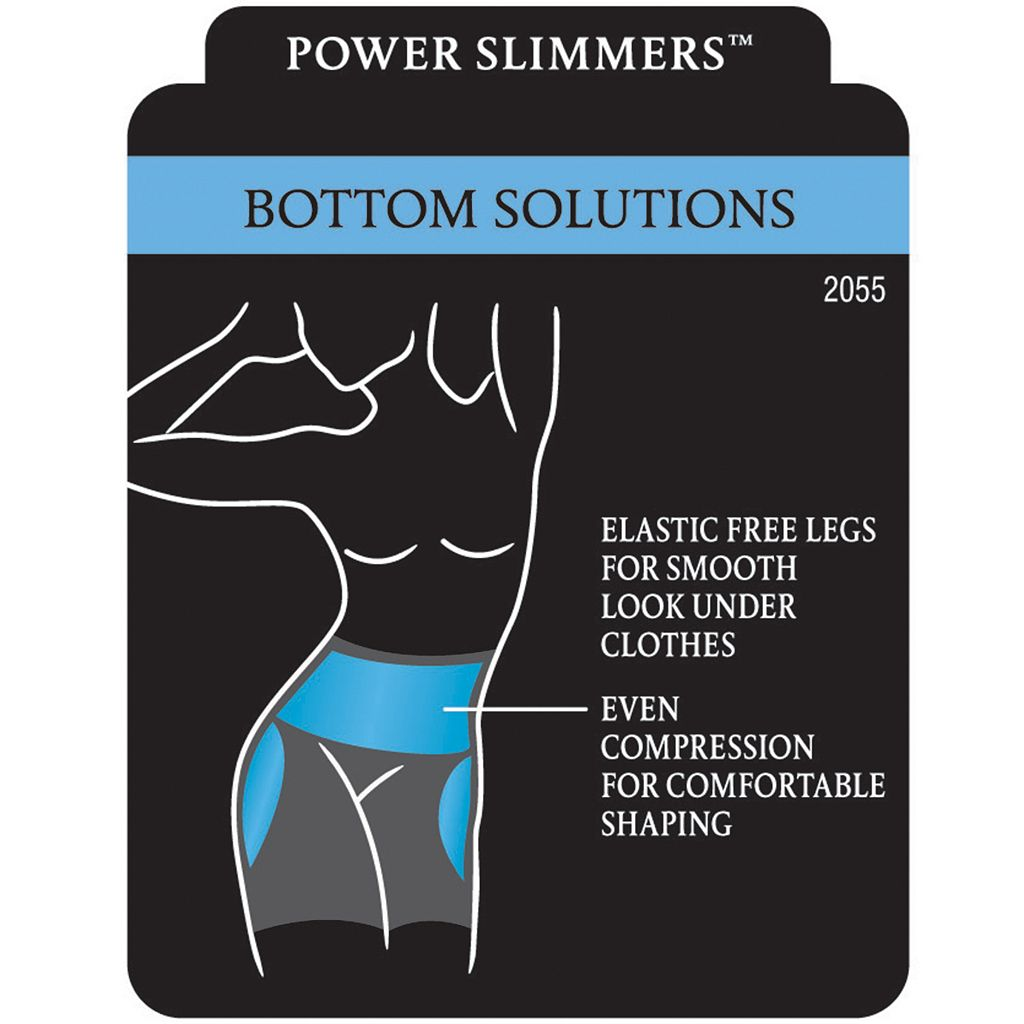 Maidenform Shapewear Power Slimmers Thigh Slimmer 2055 - Women's