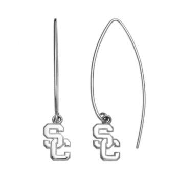 Dayna U USC Trojans Sterling Silver Hook Earrings